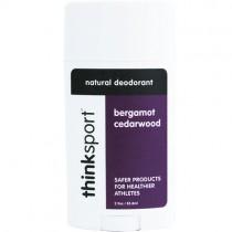 Thinksport Natural Deodorant, Bergamot Cedarwood