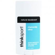 Thinksport Natural Deodorant, Chamomile Citrus