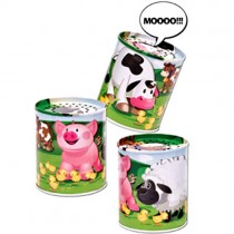 Animal Sound Maker Tin
