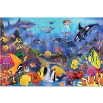 Floor Puzzle, Underwater
