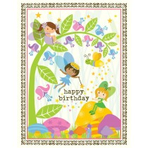 Fairies Birthday Greeting Card by Yellow Bird