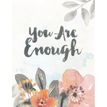 You Are Enough Greeting Card by Yellow Bird