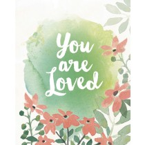 You are Loved Greeting Card by Yellow Bird