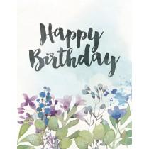Happy Birthday Greeting Card by Yellow Bird