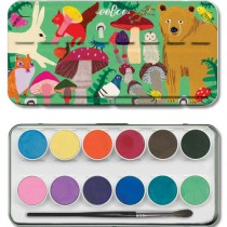 Watercolour Paint Set, Mushroom