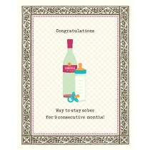 Way to Stay Sober Greeting Card