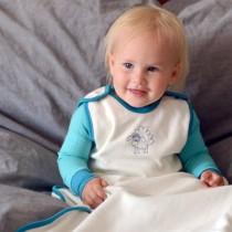 Merino Wool & Organic Cotton Baby Sleep Sack, One-Size