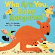 Who Are You Baby Kangaroo, Hide-and-Seek Board Book