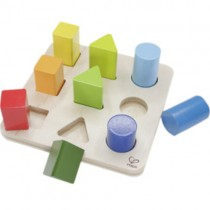 Wooden Color and Shape Sorter