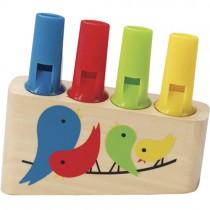 Wooden Rainbow Pan Flute