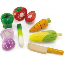 Wooden Play Food Vegetables