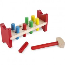 Wooden Pound-a-Peg Classic Toy