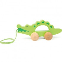 Wooden Push and Pull Crocodile