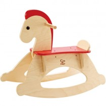 Wooden Rock and Ride Rocking Horse