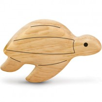 Wooden Shaker Rattle, Sea Turtle