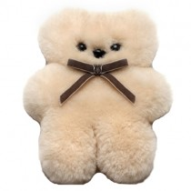 100% Wool Cuddle Bear, Little