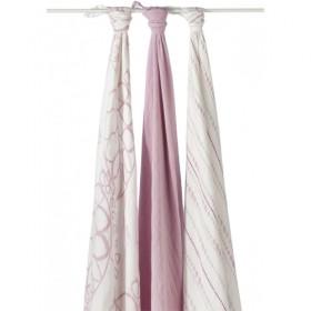 Aden & Anais Bamboo Muslin Swaddling Blankets (3pk)