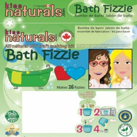 All Natural Bath Fizzie Making Kit