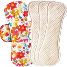 Bummis Fabulous Flo Menstrual Pad, Heavy (3pk)