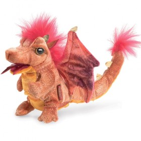 Fire Red Dragon Puppet