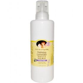 Earth Mama Angel Baby, Shampoo & Body Wash, Calming Lavender (Refill)