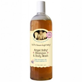 Earth Mama Angel Baby, Shampoo & Body Wash, Original (Refill)