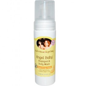 Earth Mama Angel Baby, Shampoo & Body Wash, Original