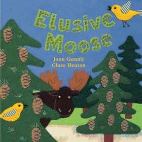 Elusive Moose, Hide-and-Seek Board Book