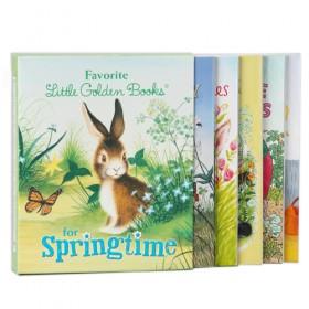 Favorite Little Golden Books for Springtime, 5 Book Boxed Gift Set