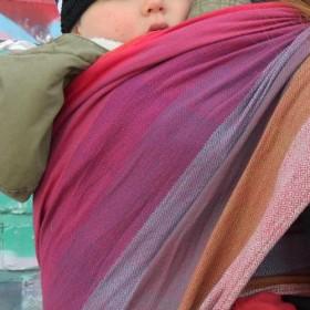 Girasol Woven Baby Wrap Carrier
