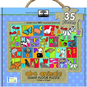 Giant Floor Puzzle, ABC Animal (35pc)