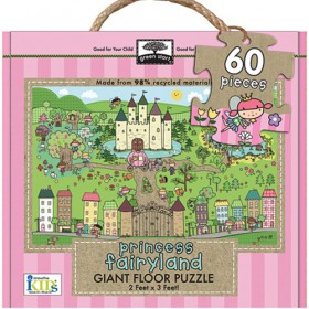 Giant Floor Puzzle, Princess Fairyland (60pc)
