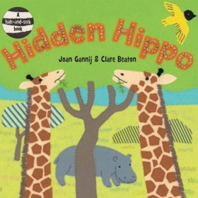 Hidden Hippo, Hide-and-Seek Board Book