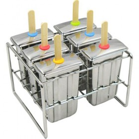 Stainless Steel Popsicle Molds, Paddle Style