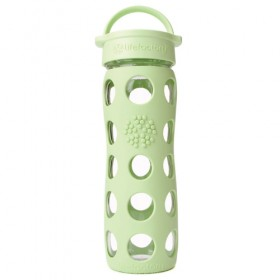 Lifefactory Reusable Glass Bottle Loop Top, 16oz.