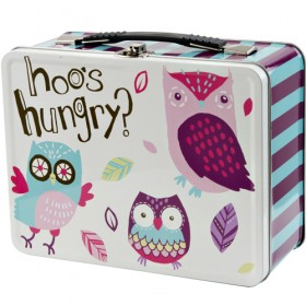 Little Blue House Tin Lunch Box