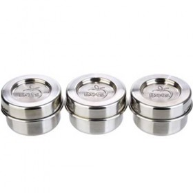 Stainless Steel Condiment Container Set (3pk)