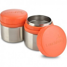 LunchBots Stainless Steel Leak Proof Food Containers, Rounds
