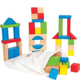 Maple Wooden Blocks (50 pcs)