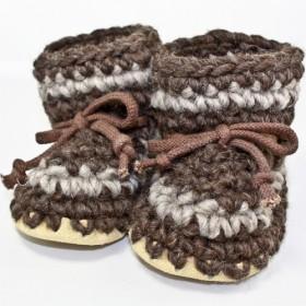 Padraig Wool Slippers, Child