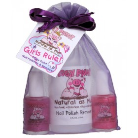 Piggy Paint Nail Polish, Girls Rule Gift Set