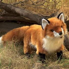 Red Fox Puppet