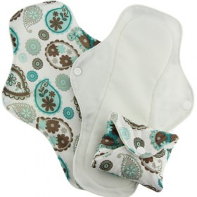 Stay-Dry Cloth Menstrual Pads (3pk)