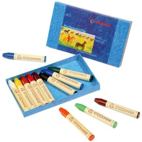 Stockmar Wax Crayons Sticks with Beeswax (12pk)