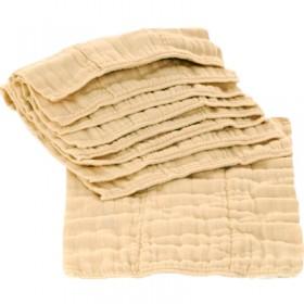 Organic Cotton Premium Prefold Inserts