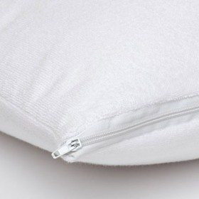 Waterproof Pillow Protector for Standard Pillow, Vinyl-Free