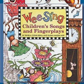 Wee Sing Childrens Songs and Fingerplays, Book w/CD