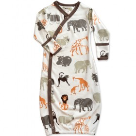Wee Urban Organic Cotton Baby Gown