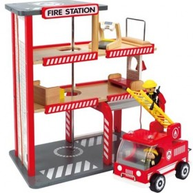Wooden Fire Station