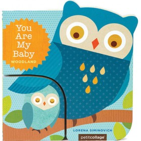 You Are My Baby- Woodland, Board Book